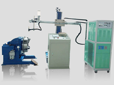 What material is used in powder welding machine